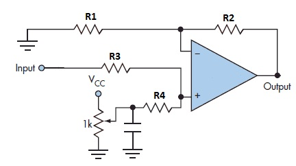 op amp level Shifting
